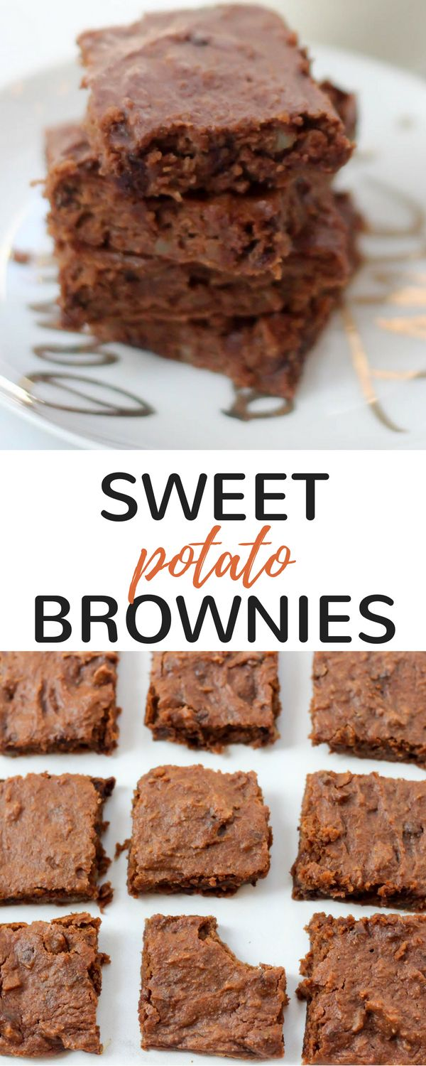 This sweet potato brownie recipe is gluten-free, grain-free, and extremely easy to make. It's a perfect healthy dessert option with a bonus dose of nutrients! Hey hey friends! How's the week going? We