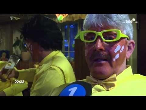 Luzerner Fasnacht 2016 - Tagwache Live Tele 1 Schmotzige Donnschtig
