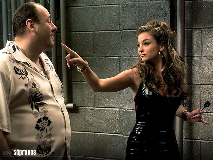 """The death of Adriana on """"The Sopranos"""" should not have been a shock to anyone, but it was the most shocking death in five years on the show. Description from clipd.com. I searched for this on bing.com/images"""