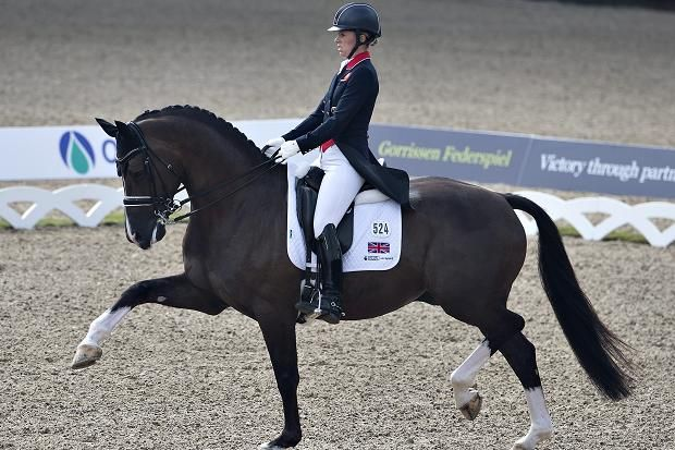Great Britain's Charlotte Dujardin on horse Valegro