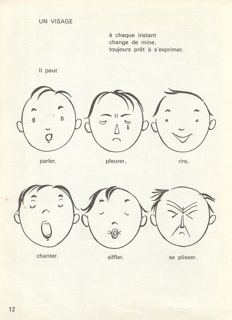 Faces in french