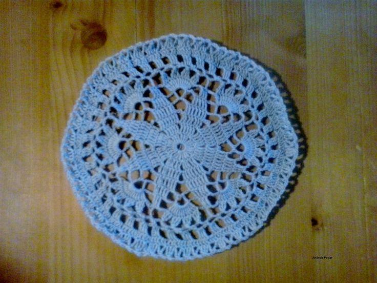crochet star doily -centrino stella all'uncinetto