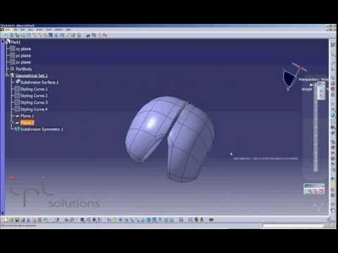 Imagine and shape|IMA|CATIA FOR DESIGN|IPL Solutions - YouTube