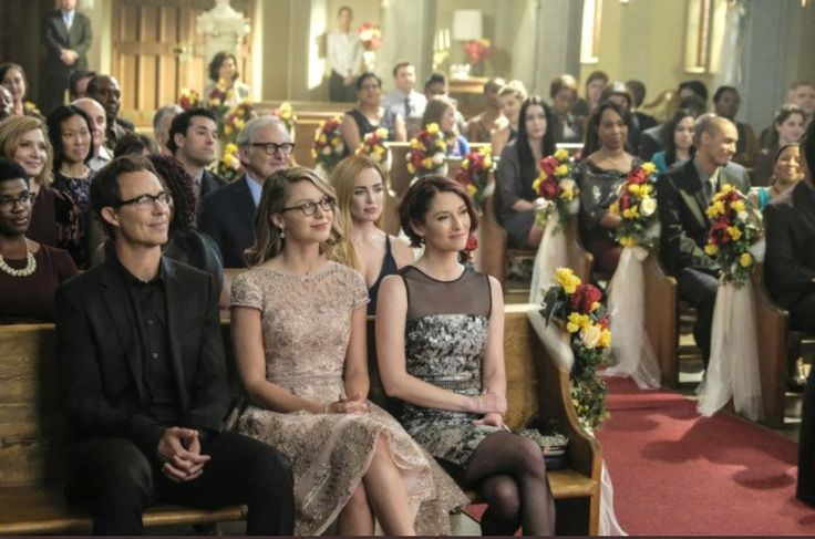 Wedding day for Barry & Iris <<< I am so in love with Kara's dress right now