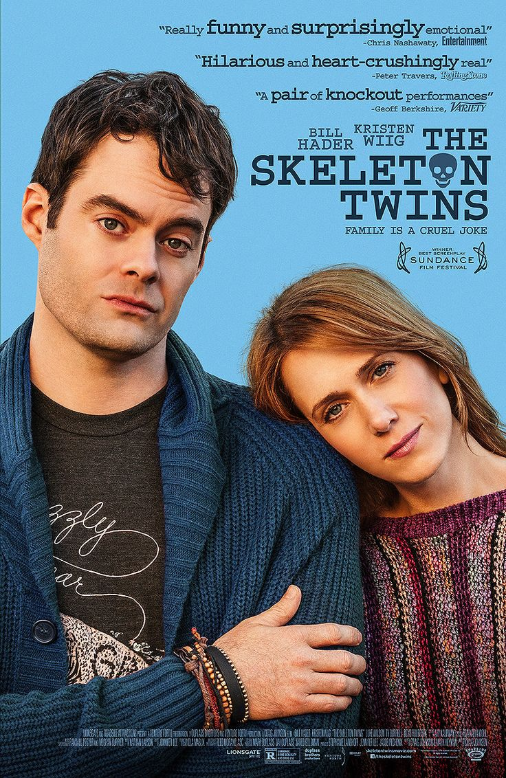Synopsis: When estranged twins Maggie (Kristen Wiig) and Milo (Bill Hader) feel they're at the end of their ropes, an unexpected reunion forces them to confront why their lives went so wrong. As the twins reconnect, they realize the key to fixing their