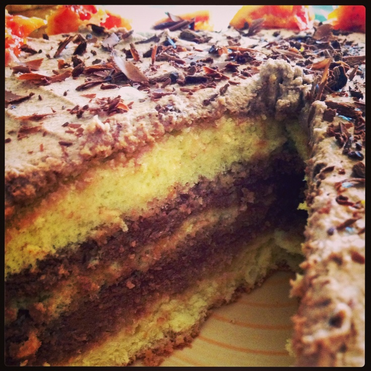 Torta #Cioccolato e #Arancia