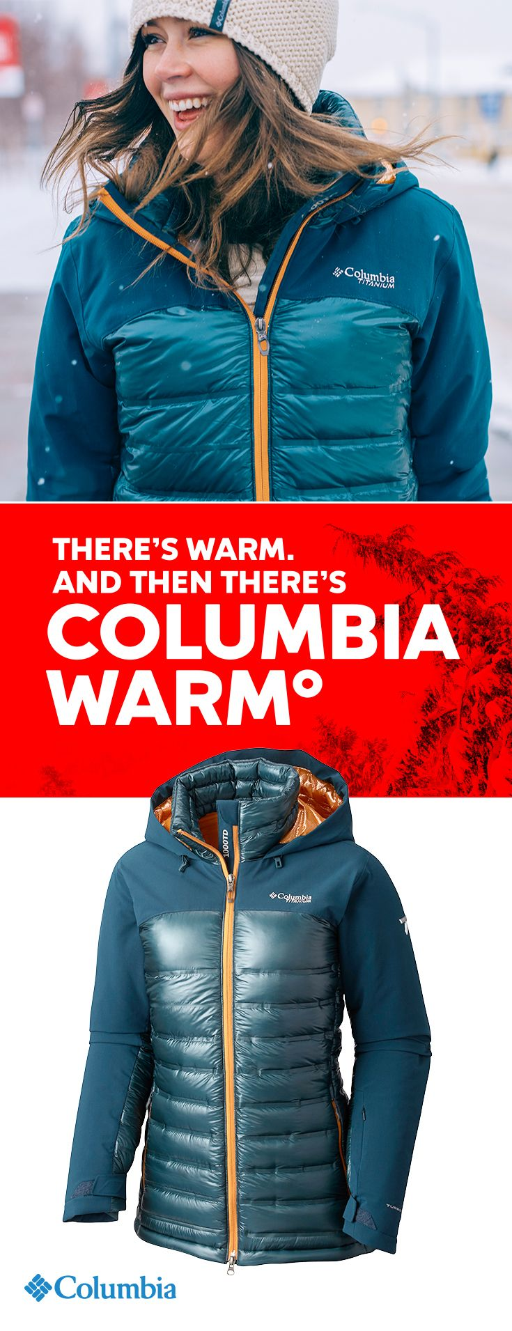 Get insanely warm. The Heatzone 1000 heats up with 900 fill, water-resistant goose down, 100g Omni-Heat insulation, a thermal reflective lining, and finally, our revolutionary wave baffle construction that eliminates the cold spots found in traditional down jackets.