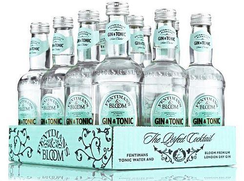 Ginatonic drink