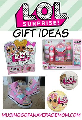 L.O.L. Surprise gift ideas - more than 12 LOL gift ideas for 2017