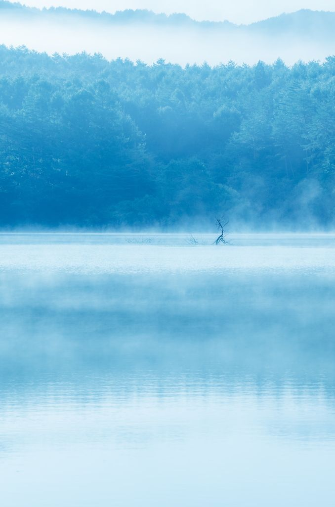 Lake Hijiri, Hiroshima, Japan