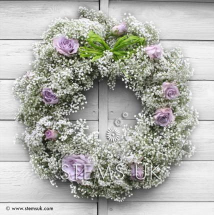 Wreaths - Funeral Flowers - Stems UK