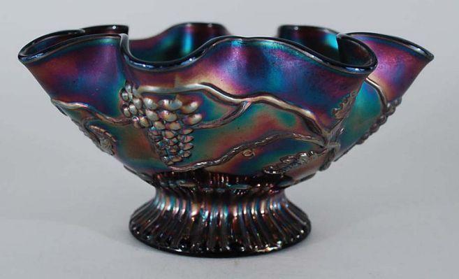Antique Carnival glass