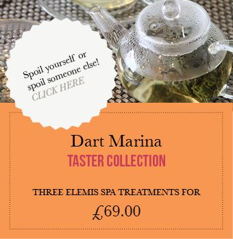 Dart Marina Spa Elemis Spa Treatment - The Dart Marina Health Spa has been open for 8 years and is located alongside the Dart Marina Hotel in Dartmouth. We offer a variety of spa treatments alongside our spa facilities. Our Spa facilities include a fitness suite, swimming pool, jacuzzi and steam room.