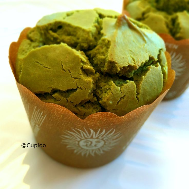 Matcha and Rice Flour Muffin1_©Cupido