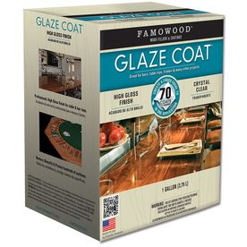 Famowood Gallon Glaze Coat Gloss Polyurethane Use For