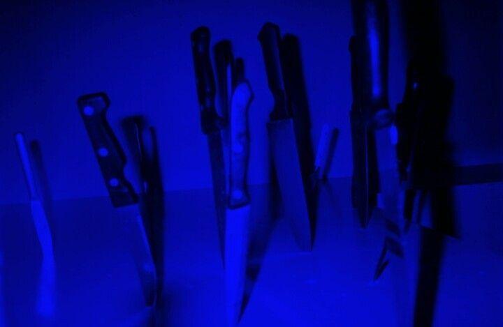 Blue health aesthetic