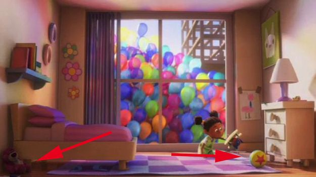 Up! Easter eggs you may have missed in 20 or more Disney movies. Fun to see if you noticed the connections.