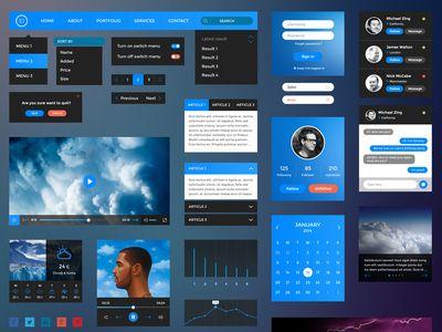 Retina UI Kit • Download Link