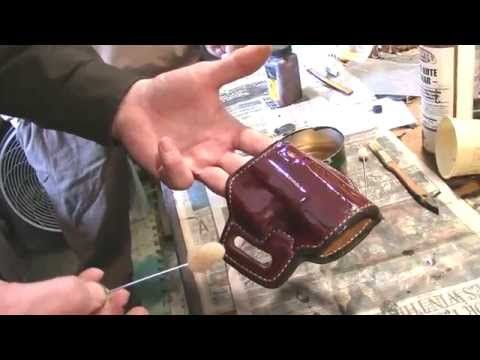 After the first video with Hank Strange, Sam Andrews wanted to show the folks exactly what goes into making a standard leather holster. The Gun Model being m...