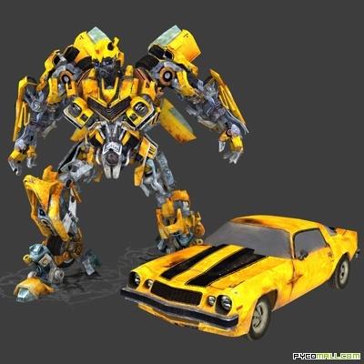 Bumblebee 1977 Chevrolet Camaro - Transformers