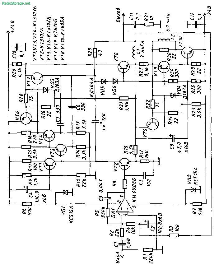 quad 405 2 circuit diagram
