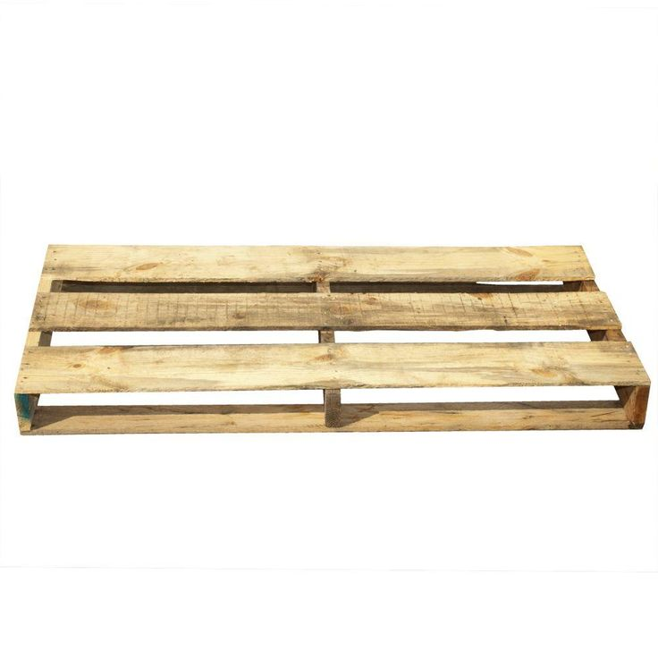 40 In. X 24 In. X 5 In. Reclaimed Wood Half Pallet