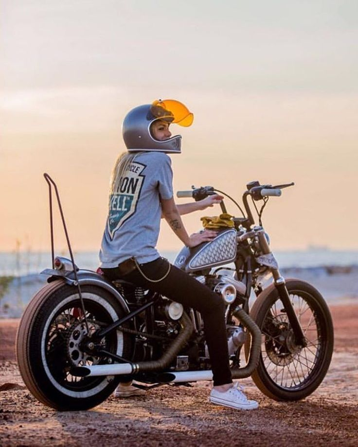 429 Best Girls Ride Choppers Images On Pinterest
