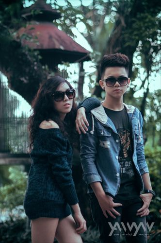 Wildcard Brown and Candy Black Models: Catherine Ramos and Zildjian Benitez Styling: Job Layco