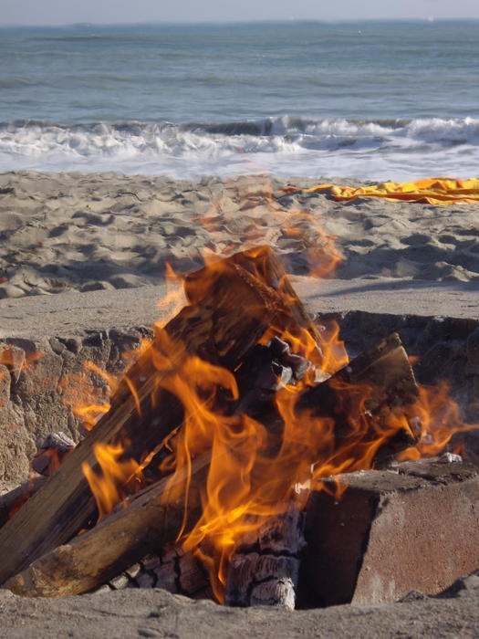 ✮ Fire at the Beach