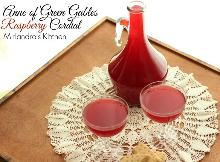 This wonderful Anne of Green Gables Raspberry Cordial is non-alcoholic, easy to make, and perfect for any occasion. Readers young and old will love it.