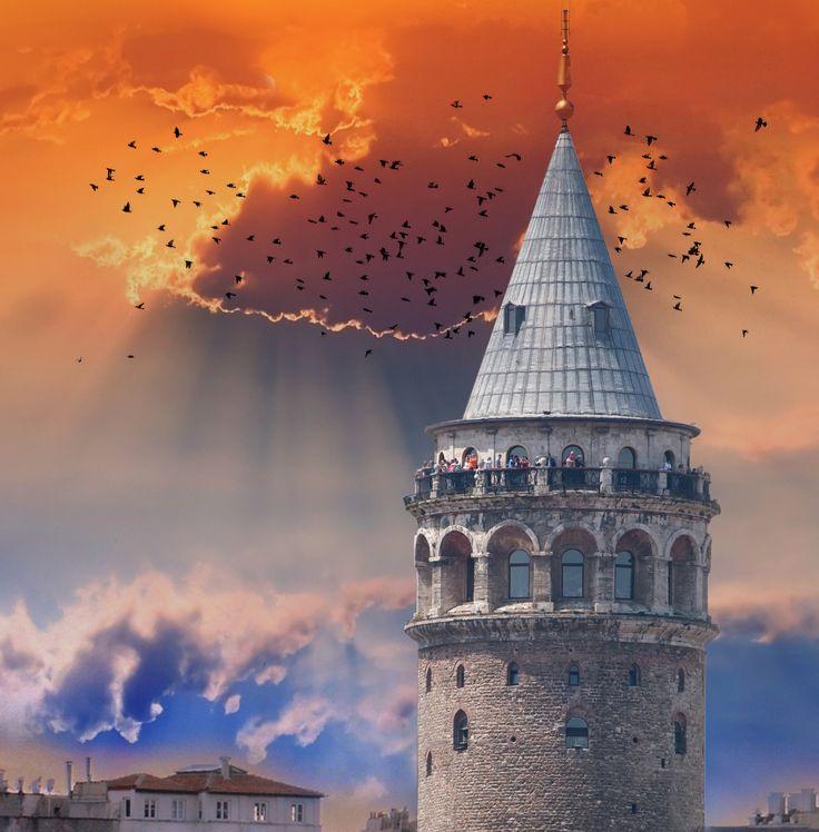 İSTANBUL - GALATA by Ahmet Taha Bilgin on 500px