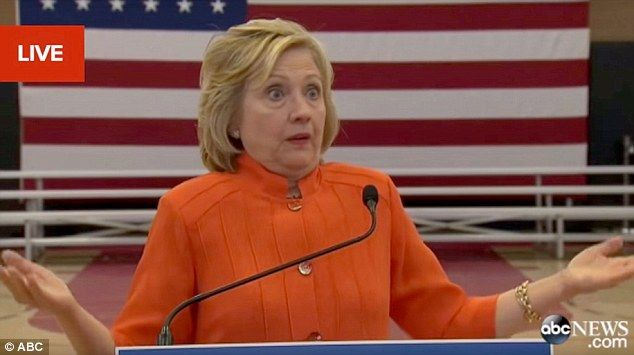 Hillary Fashion tip # 305-When facing possible federal charges...always wear an orange jumpsuit!
