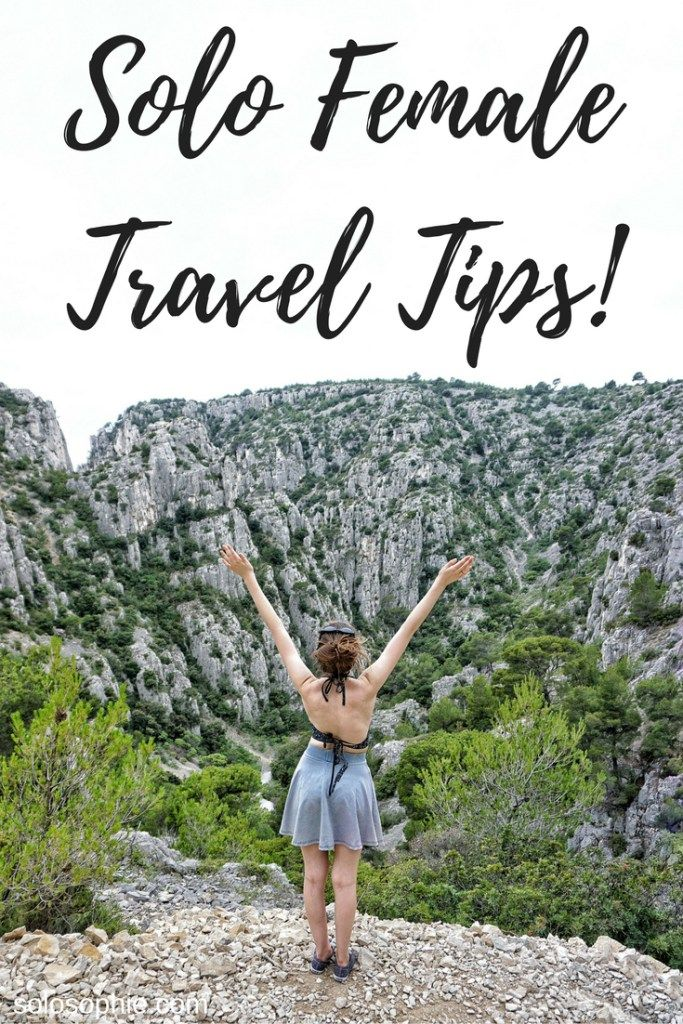 solo female travel tips                                                                                                                                                                                 More