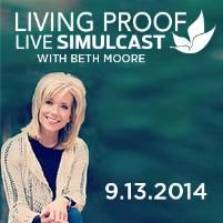 2014 Living Proof Live Simulcast:  Spring First Church, Spring, Tx.  (register at springfirst.org)