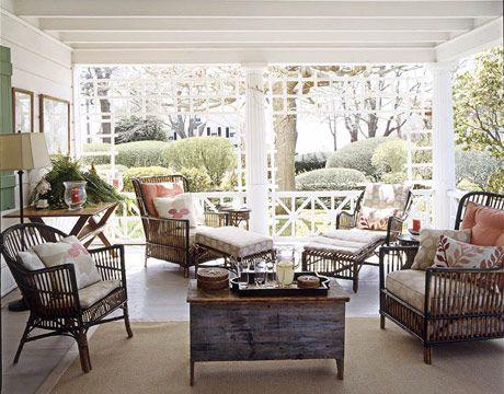 Porch In CT ~ Jason Bell Design