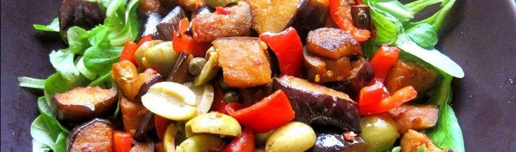Arabische auberginesalade