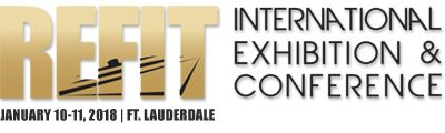The Refit International Exhibition & Conference will be held at the Greater Fort Lauderdale / Broward County Convention Center on January 10 – 11, 2018. The Refit Show is a marine industry trade show that combines exhibits, seminars and demonstrations for boat refit professionals.