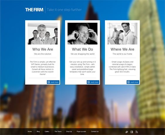 9 best 9 of the Best WordPress Themes for Lawyers \ Law Firms - law firm brochure