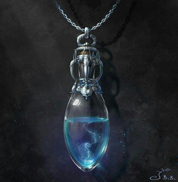 Mana Potion Necklace