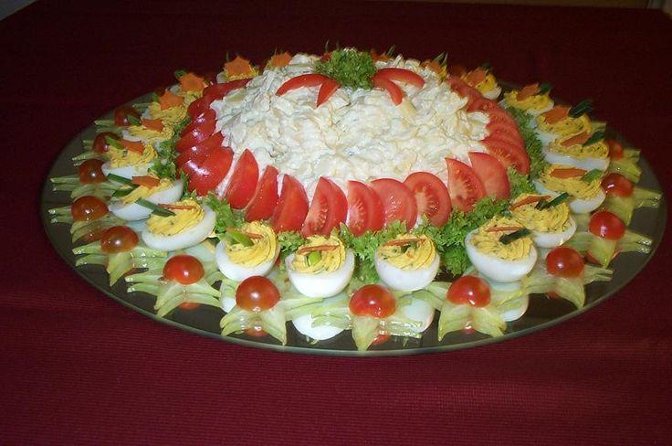 aardappelsalade garneren - Google zoeken