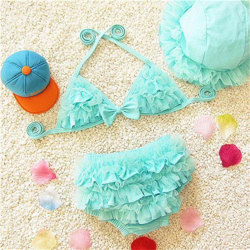 Bikini swimsuit Kids bathing suit Toddler meisjes bikini girl swimming suit TN027