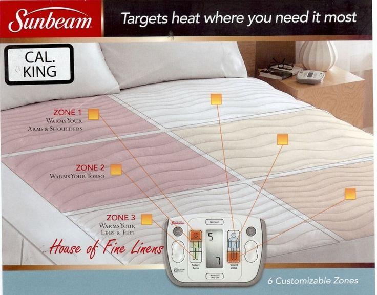 Sunbeam Therapeutic Electric Mattress Pad