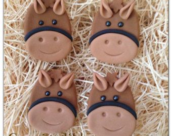 Items similar to Edible Fondant Horse and boy reserved listing for ...