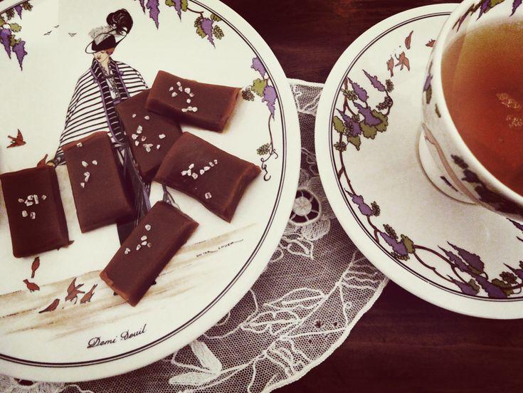 Feine Karamell-Toffees