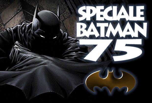 Speciale Batman 75: testata.