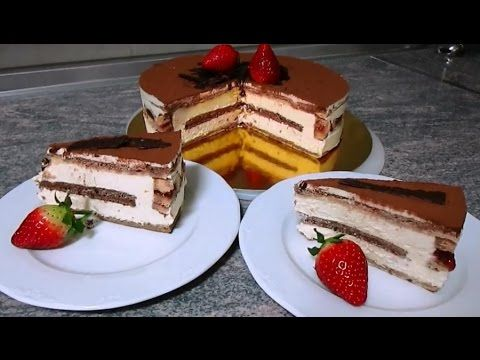 Тирамису, рецепт торт тирамису от Руты, - YouTube