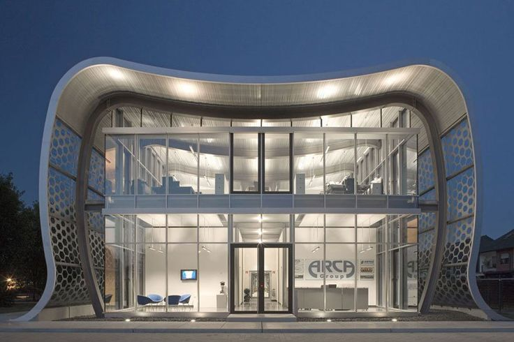 Dental office. Oh my gosh!! That architect was brilliant!! Such a cool office, lol!