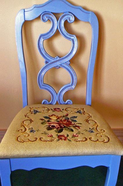 Vintage Rose Needlepoint by bridiemurphy, via Flickr