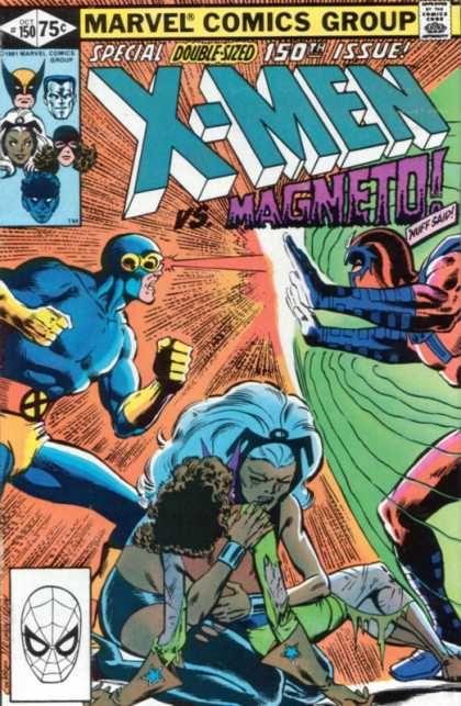 Magneto - 150th Issue - Marvel Comics - Spiderman - Double-sized - Dave Cockrum, Josef Rubinstein