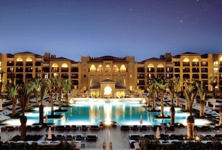 Mazagan Beach Resort, El Jadida, Morocco  Exterior and interior courtyard lighting with EDSA and Northpoint